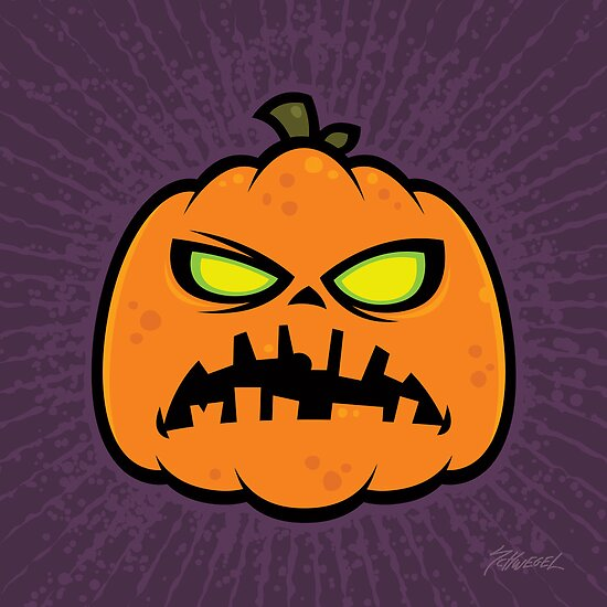 Pumpkin Zombie by fizzgig