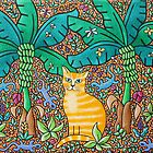 Ginger Cat, Tenerife by Amanda White