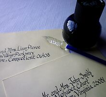 Calligraphy Dreams by Works By  Barbara