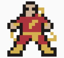 8 Bit Captain Marvel (Shazam) by Victor  Dandridge