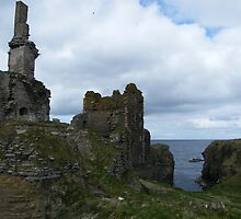 Castle Sinclair Girnigoe  by JJsEscape