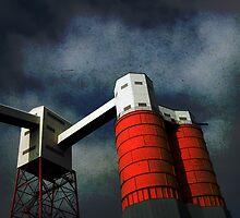 Railhead building, Avonmouth, Bristol, UK by buttonpresser