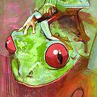 Baby Frog by Nikki Cooper