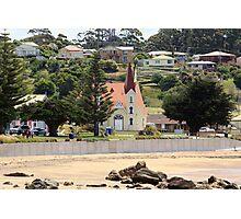 Uniting Church, Penguin, Tasmania Photographic Print