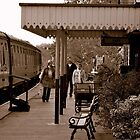 Embsay Station by Stan Owen