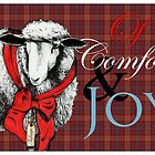 &quot;Ewe&quot; Tidings of Comfort &amp; Joy by Carrie Jackson