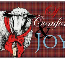 """Ewe"" Tidings of Comfort & Joy by Carrie Jackson"