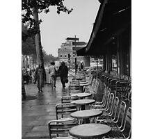 Paris street scene Photographic Print