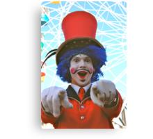 make sure you have fun!  luna park, sydney, australia Canvas Print