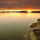 Castlehill Point Sunset by Brian Kerr