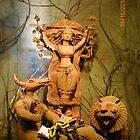 Durga Puja, 2010, Lake Gardens, Kolkata, India by Mahesh Kumar