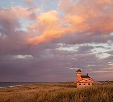 Old Harbor Life Saving Station by bettywiley