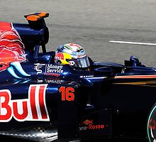 Sebastien Buemi 2010 British Grand Prix by WillOakley