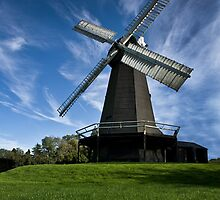 Stelling Minnis Windmill by Pete Stone