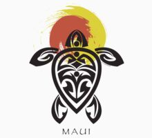 Tribal Turtle, Maui Sun by Susan R. Wacker
