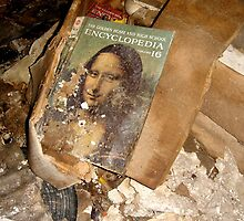 Disturbed Mona Lisa by MJD Photography  Portraits and Abandoned Ruins