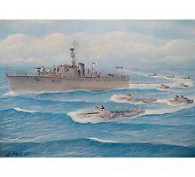 Flotilla 25, Royal Marines, Malaya 1945 Photographic Print