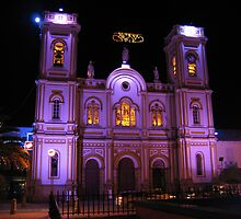 Old Colombian Cathedral - Sogamoso by Caesar Padilla