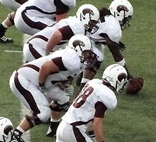 ULM getting ready to snap the ball. by Kaoss134