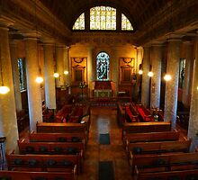 St Lawrence, Mereworth, panoramic by Dave Godden