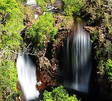Waterfall, Litchfield National Park by Julia Harwood