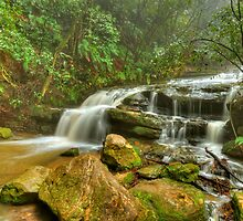Panoramic Cascades by donnnnnny