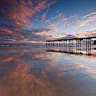 Saltburn pier & Sunrise by Carl Mickleburgh