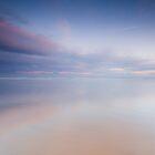 Wet Sands at Saltburn by Carl Mickleburgh