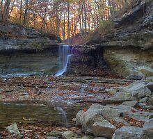McCormick's Creek Falls by Jeff VanDyke