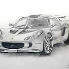 Lotus Exige by Jack Froelich