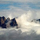Mountains Through the Clouds by David DeWitt