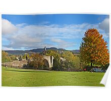 Stirling Bridge and wallace Poster