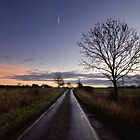 Country Road Sunrise by Nigel Bangert