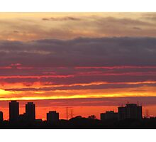 West Side Story  Rumble Sunset Photographic Print