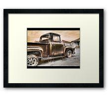 Ford V8 Old Timey-Look HDR Framed Print