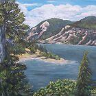 Polalli Illahi Ollaha - Columbia River  by Victoria Mistretta
