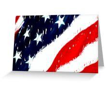 untitled flag Greeting Card