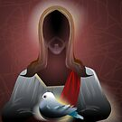 Peace rest in Lord Jesus and Pigeon	 by tillydesign