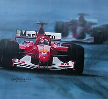Formula 1. Schumacher   by jan farthing