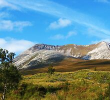 Beinn Eighe From The Torridon Road Near Kinlochewe by artwhiz47
