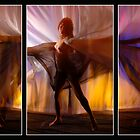 Natalia's Exotic Dance Triptych by MarkBigelow