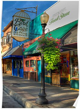 Whiskey Row Prescott, Arizona by Diana Graves Photography