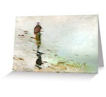 Fisherwoman Greeting Card