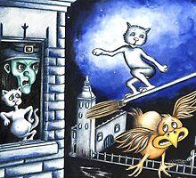 Halloween joyrider by Margaret Sanderson