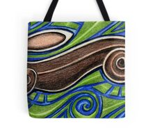 Leaping Brown Hare Tote Bag