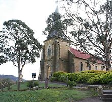 St John Catholic Church Richmond Tasmania 1836 by PaulWJewell