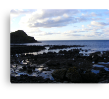 The Giant's Causeway - eatly evening Canvas Print