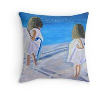 Breeze for Two Throw Pillow