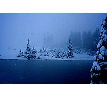 Blizzard! Photographic Print