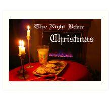 """Christmas Eve Night"" Art Print"